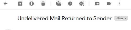 Screenshot of an email header.