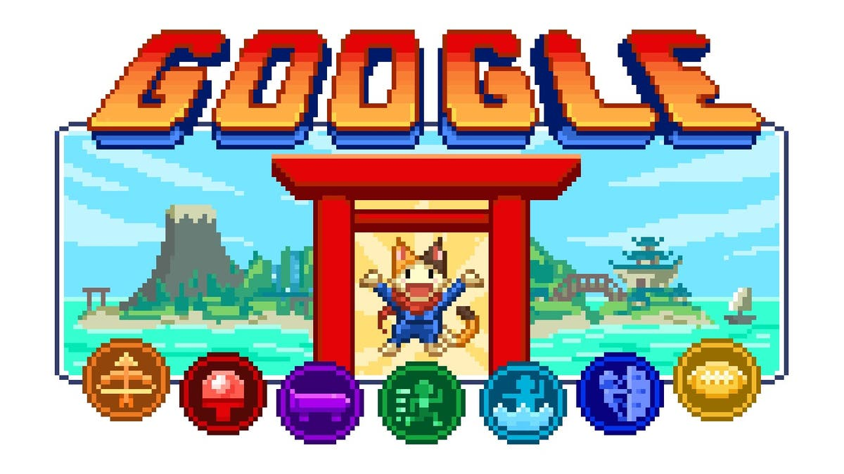 New Google Doodle launches series of games around Tokyo Olympics